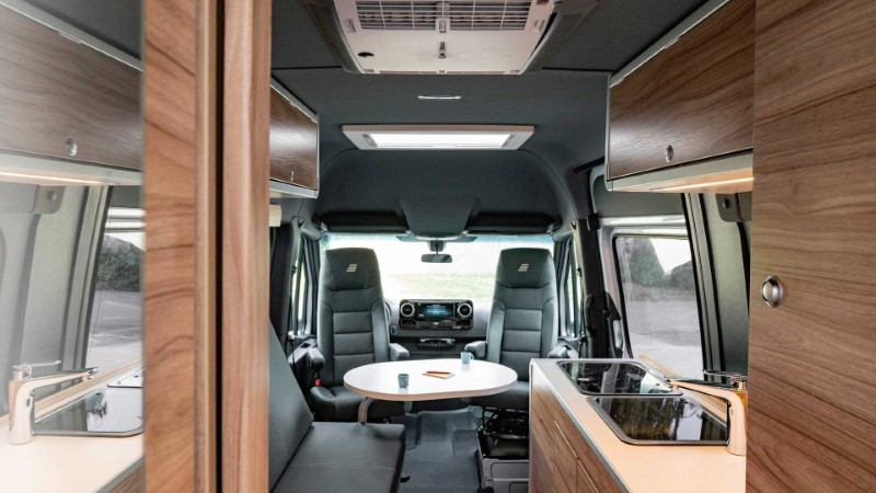 New Mercedes Sprinter RV Interior