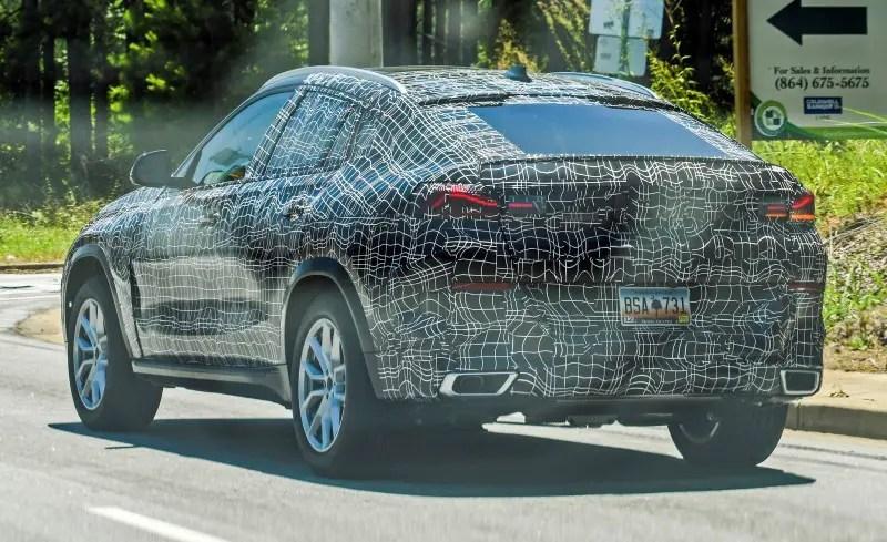 2020 BMW X6 Spy Photos - UPDATE