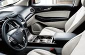 2020 Ford Edge Interior Leather Beach Color