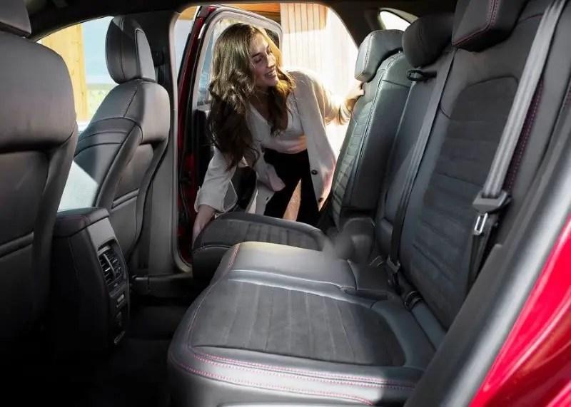 2020 Ford Kuga Hybrid Interior Dimensions
