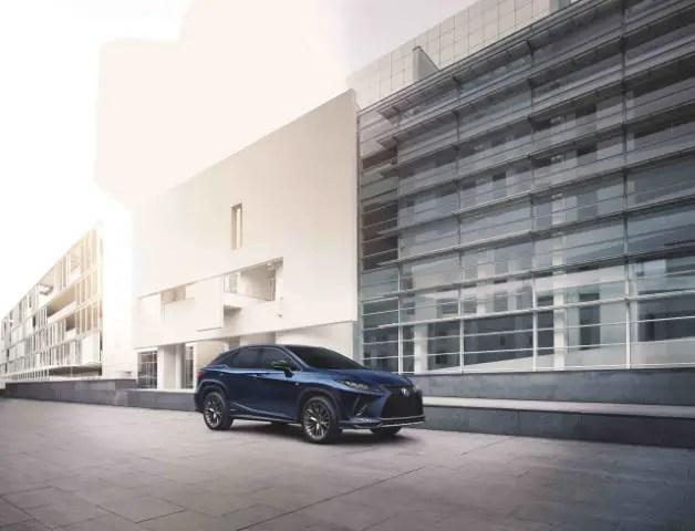 2021 Lexus RX 450h Exterior Facelift