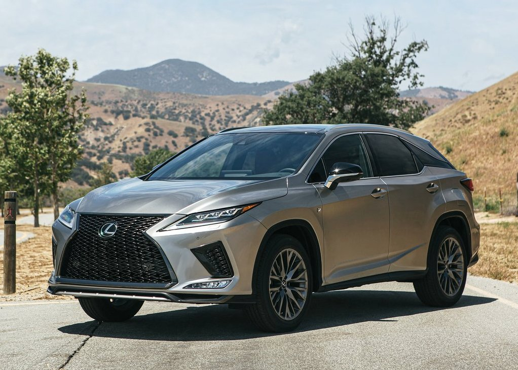 2021 Lexus RX 450h New Facelift and Changes Exterior