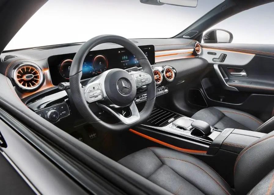 2020 Mercedes CLA Dimensions