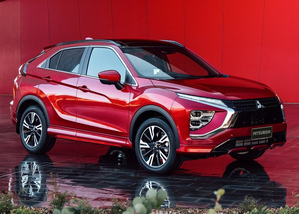 New Mitsubishi Eclipse Cross in RED Color