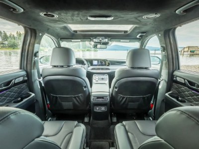 2021 Hyundai Palisade Roomy Interior With Captain Seat