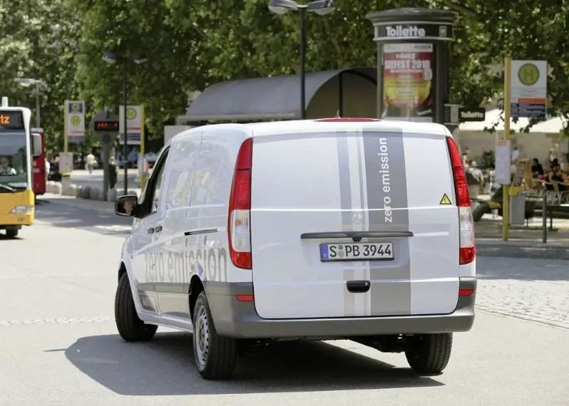 2021 Mercedes Vito Zero Emissions