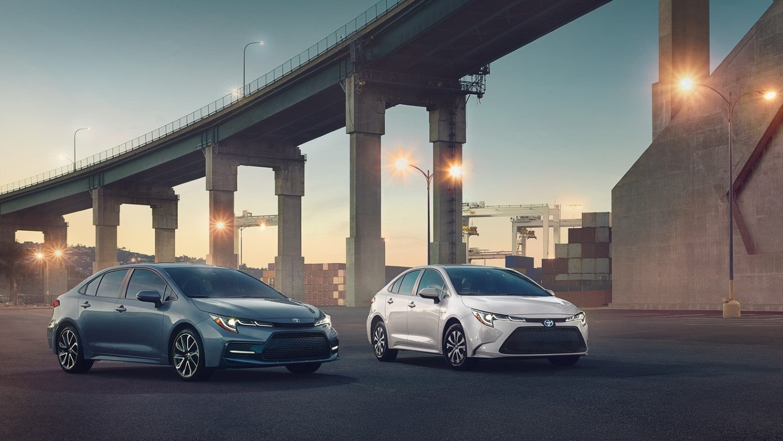 2021 Toyota Corolla Configurations