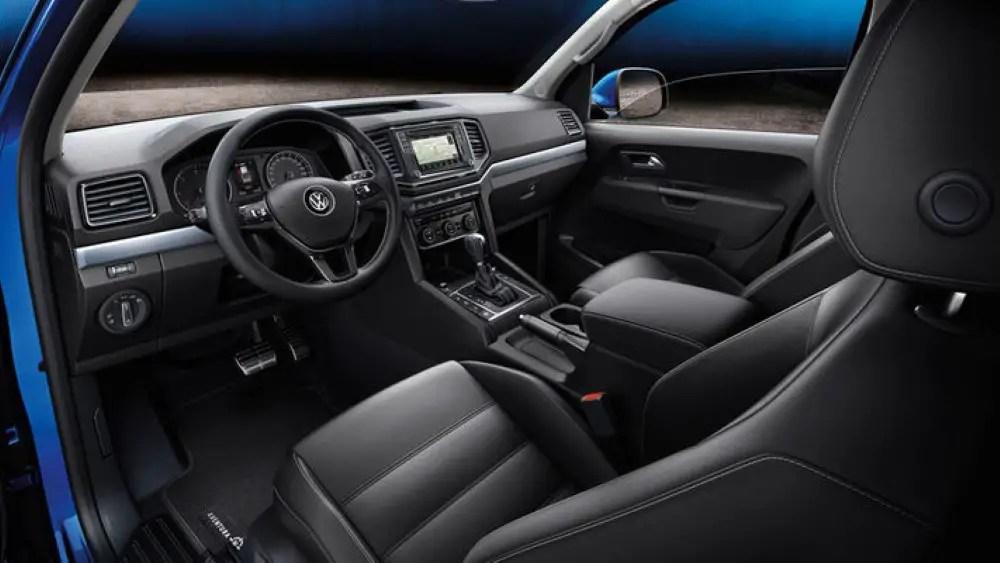 2021 VW Amarok Interior Changes