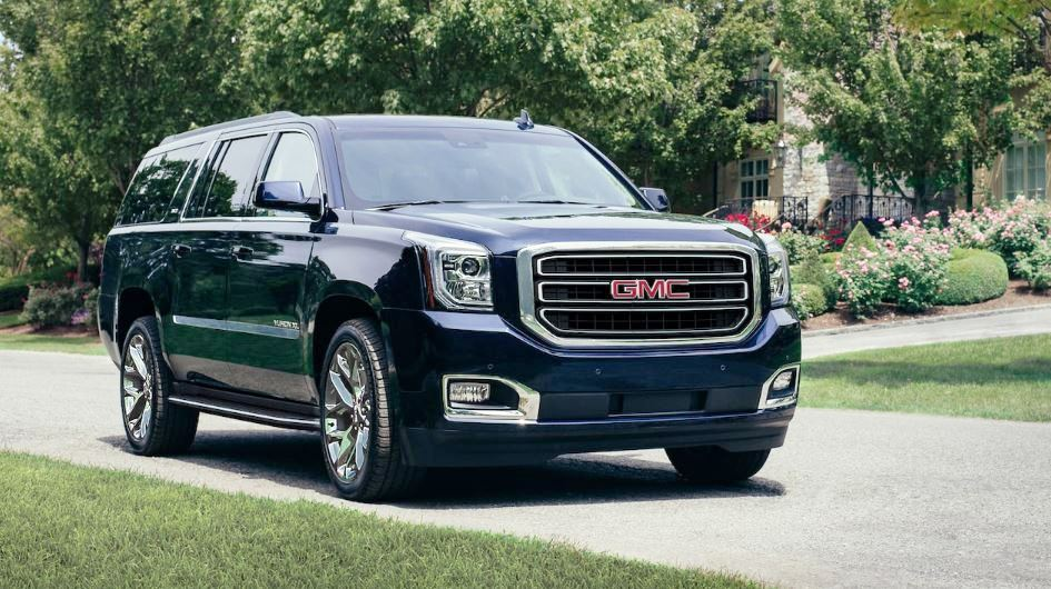 2021 GMC Yukon Dark Blue Color Exterior