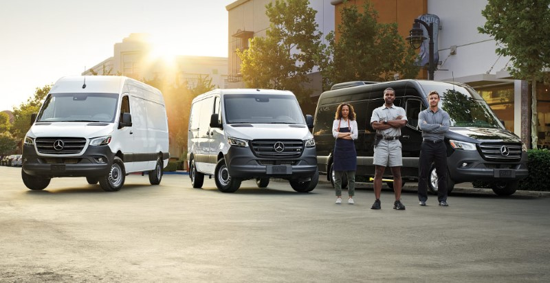 2021 Mercedes Sprinter Configurations