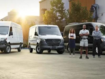 2021 Mercedes Sprinter Configurations