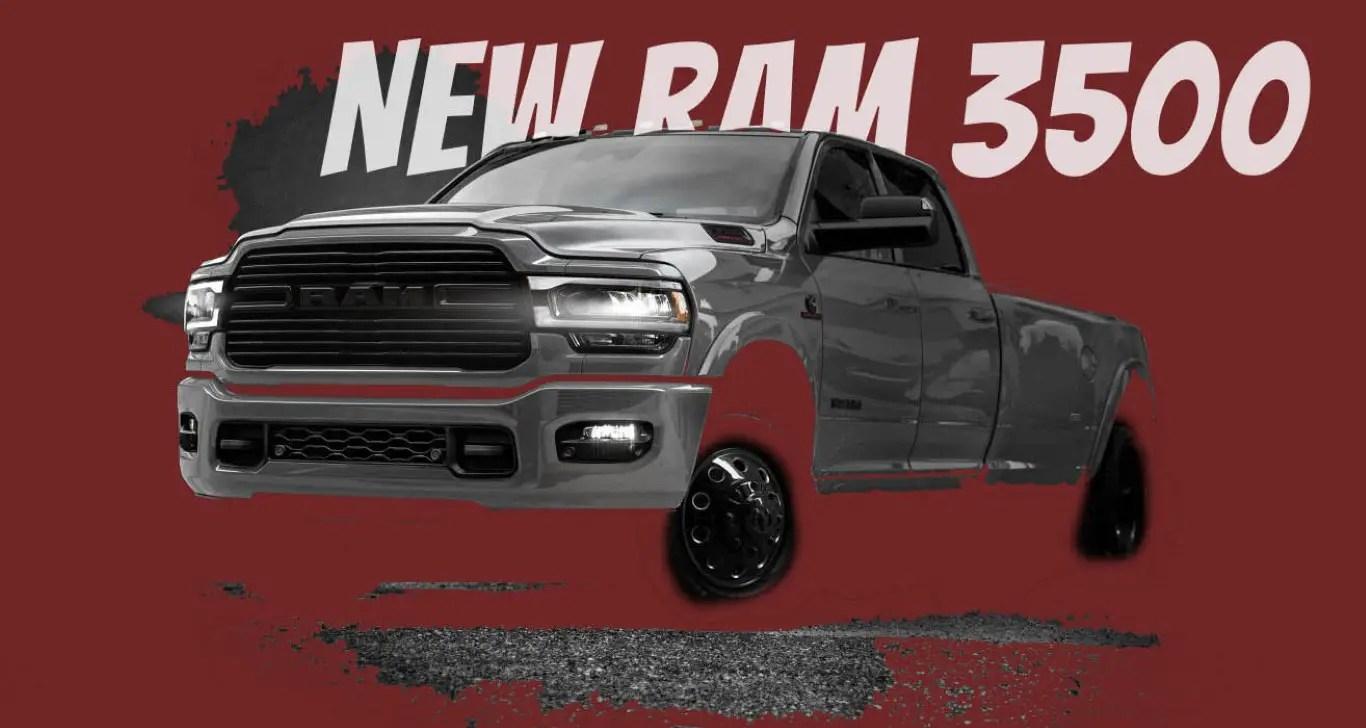 2021 RAM 3500 Exterior Concept