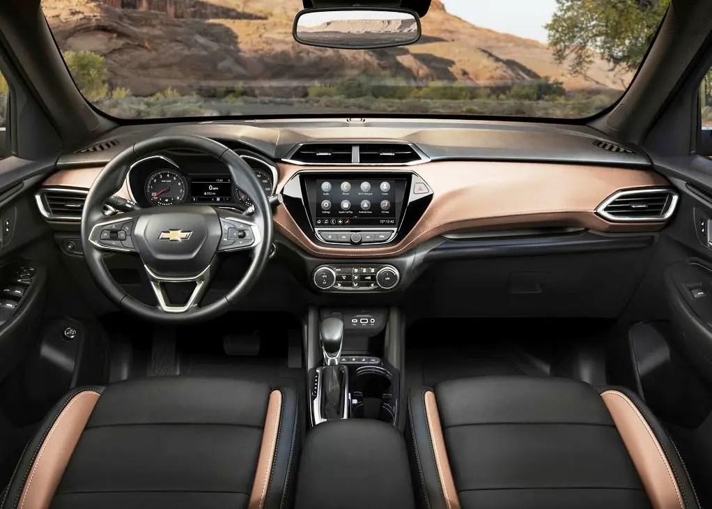 2021 Chevrolet Trailblazer Interior Dashboard
