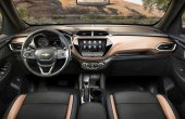 2021 Chevrolet Trailblazer Interior Dashboard
