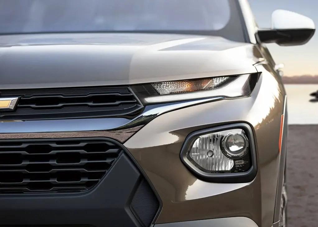 2021 Chevrolet Trailblazer New Grilles and Headlamp