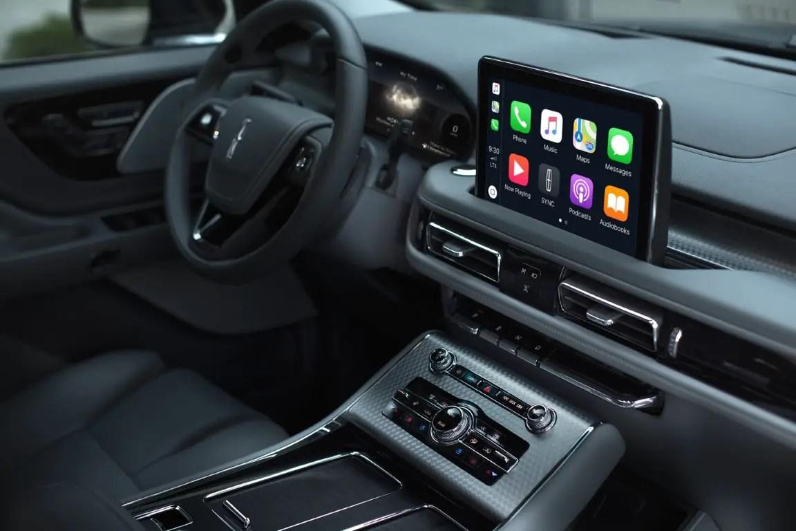 2021 Lincoln Aviator Apple Carplay Features