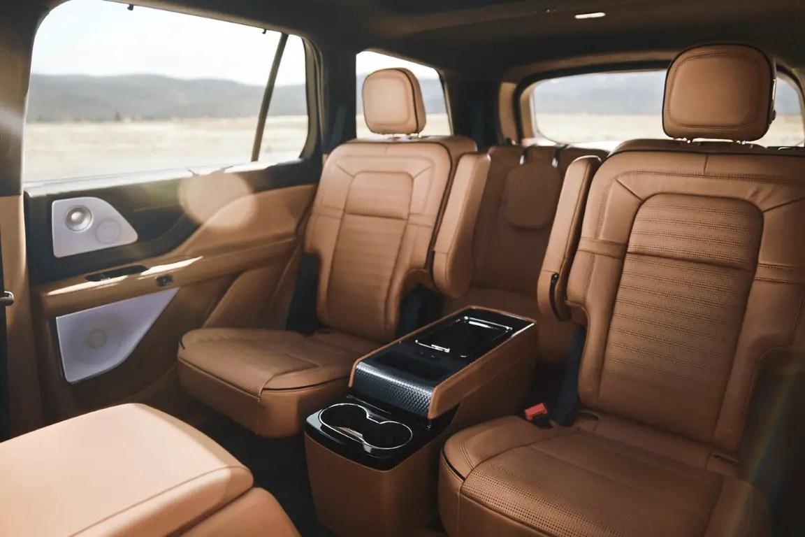 2021 Lincoln Aviator Captain Seat