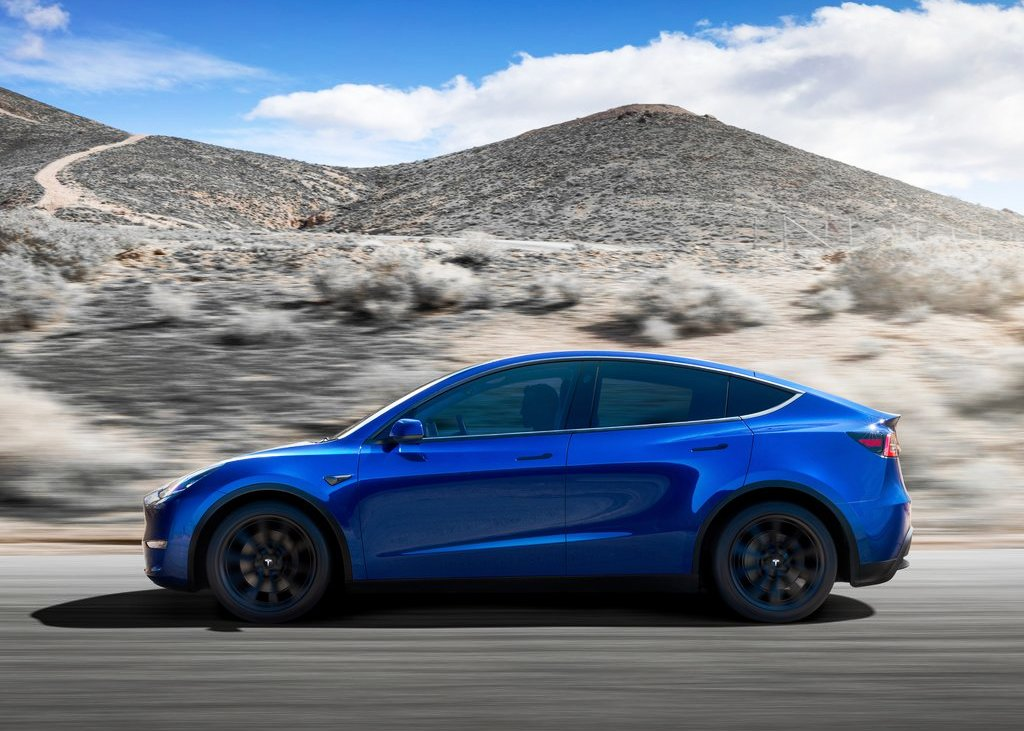 2021 Tesla Model Y Battery range