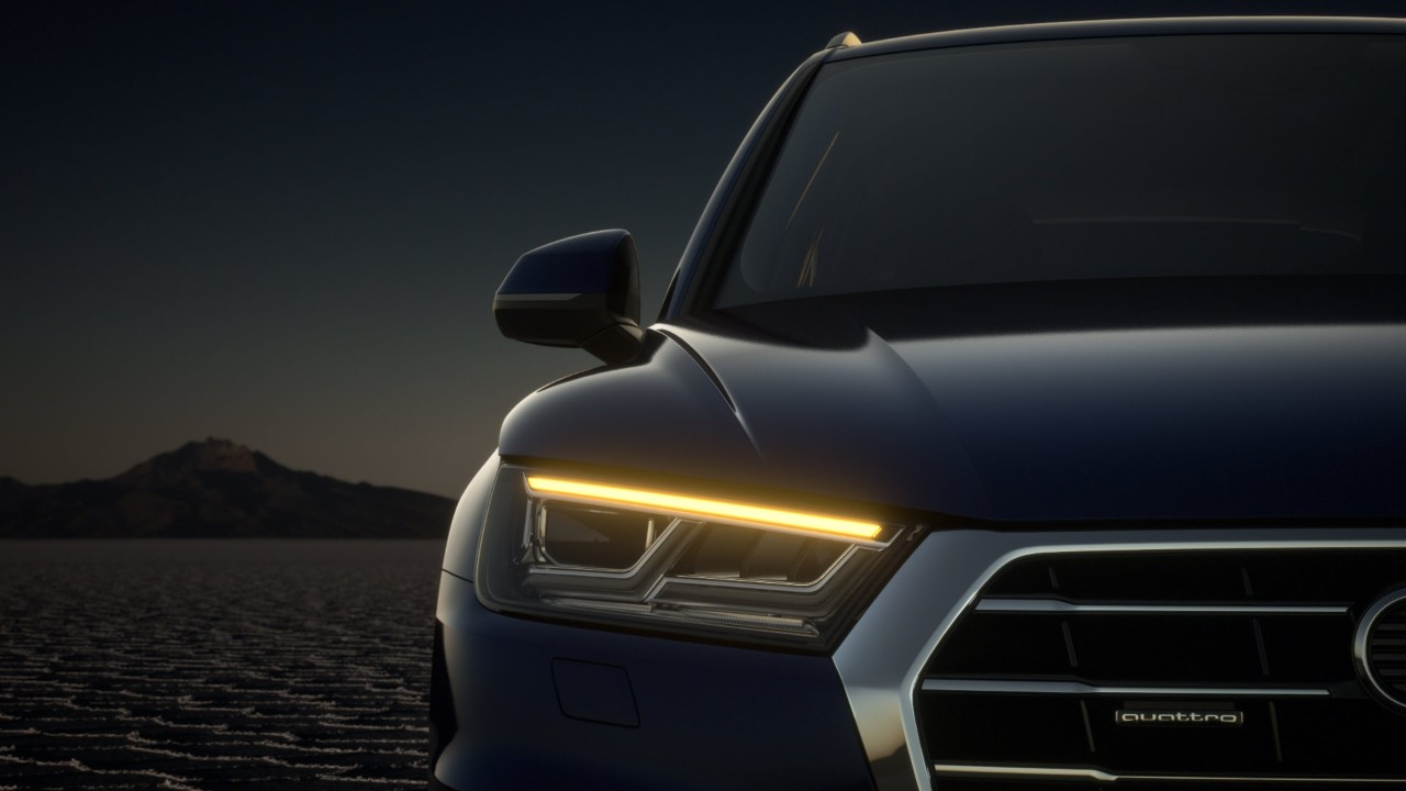 2021 Audi Q5 New Headlamp with DRL LED