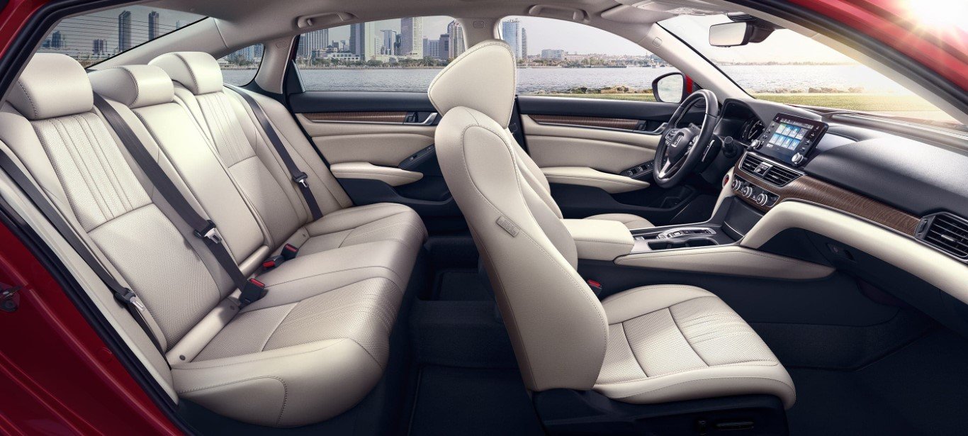 2021 Honda Accord Interior Seating With Premium Leather