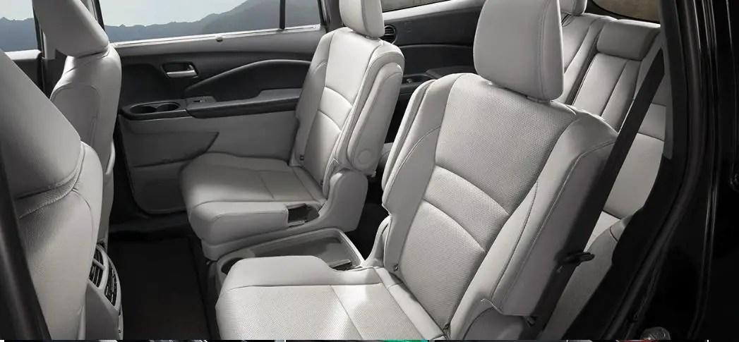 2021 Honda Pilot 7 Passenger SUV Interior
