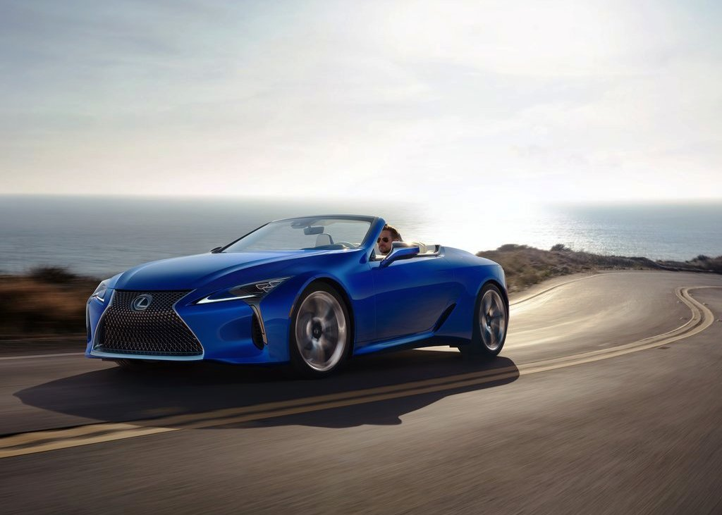 2021 Lexus LC 500 Convertible Performance