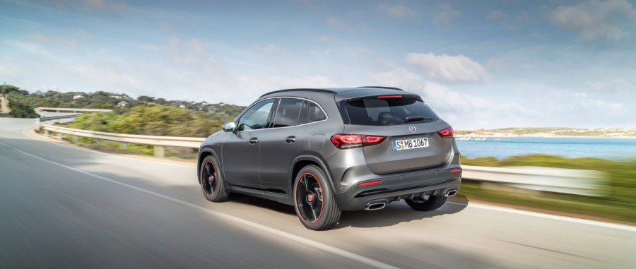 2021 Mercedes GLA Redesign Exterior With New Tail light