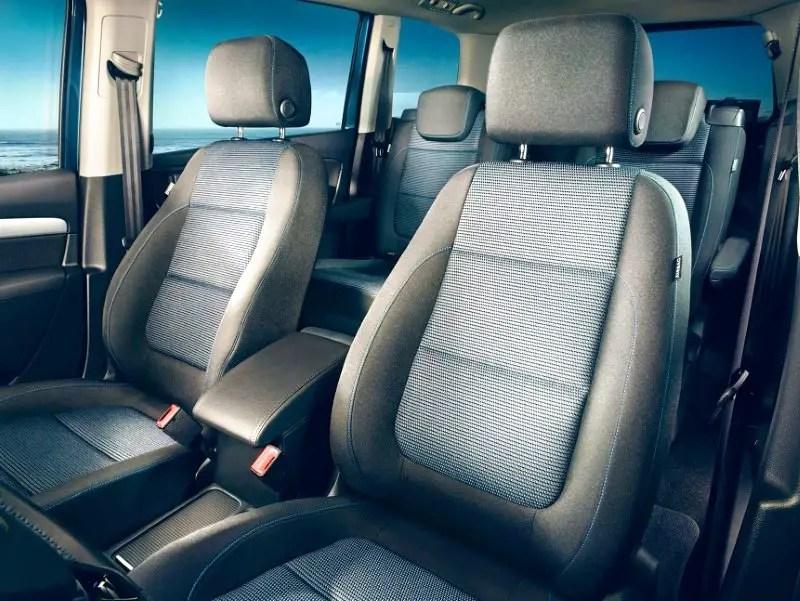 2021 Volkswagen Sharan Interior Capacity