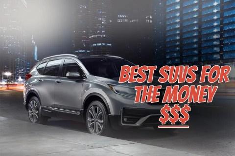 Honda CR-V Best value For Money