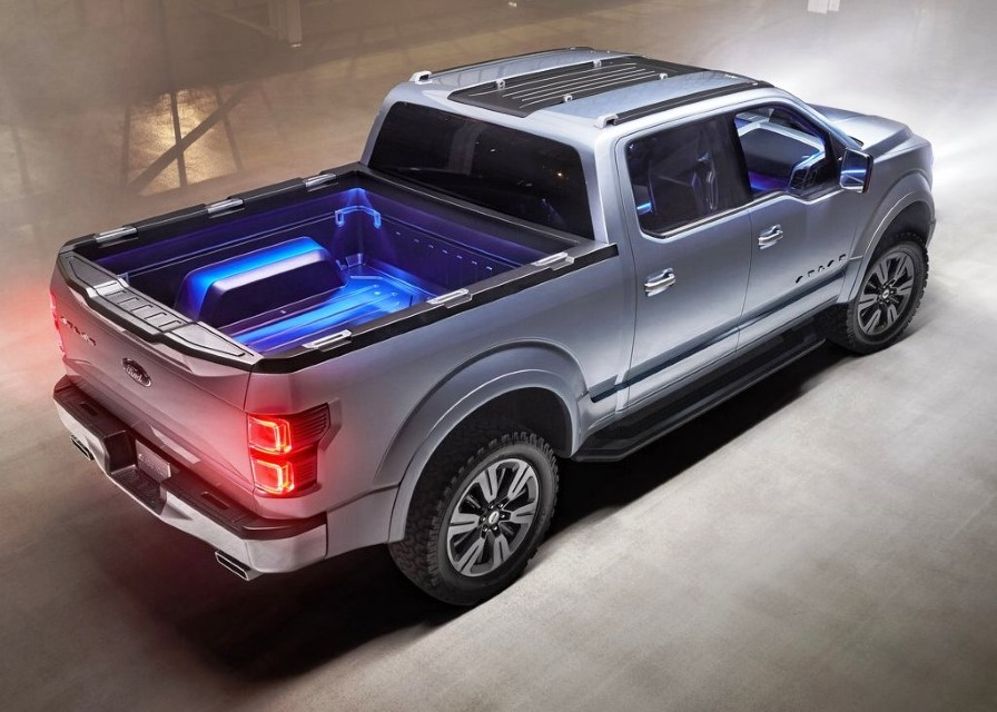New Ford Atlas Pickup Truck