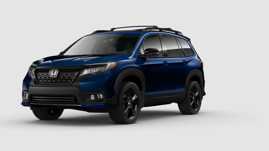 2022 Honda Passport With Urban Package in Blue Color