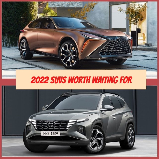 Pictures of 2022 SUV coming out