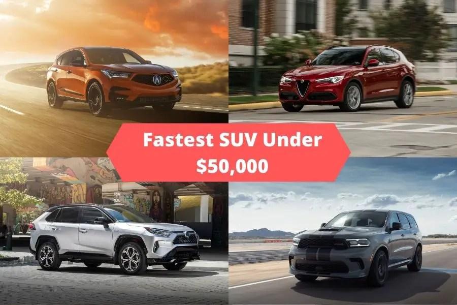 Fastest SUVs Under 50K Photos