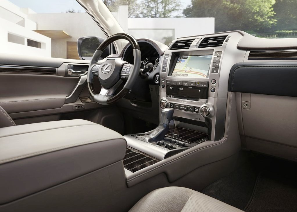 New Lexus Pickup Truck Interior Concept Based on GX Series
