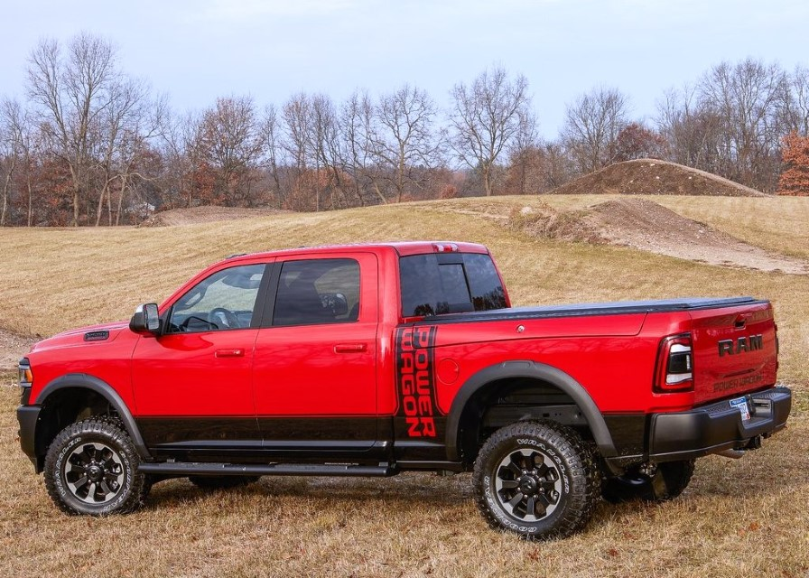 2021 Ram Macho Power Wagon Red Color Pictures