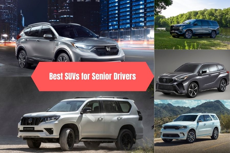 Best SUVs for Senior Drivers