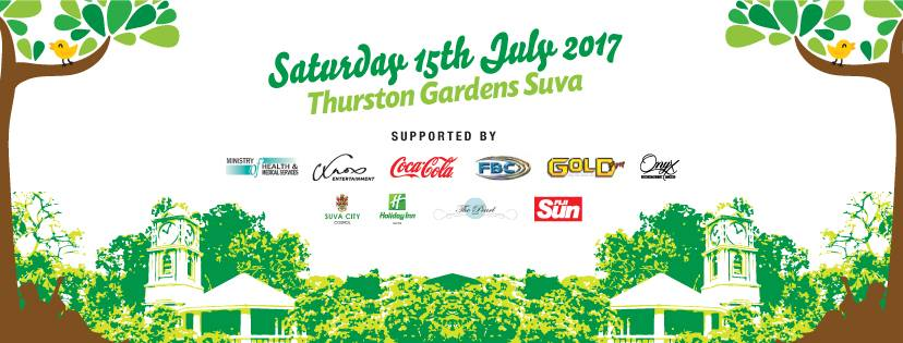 Saturday 15th July 2017 Thurston Gardens in Suva will come alive for the first ever Thurston Food and Music Festival!