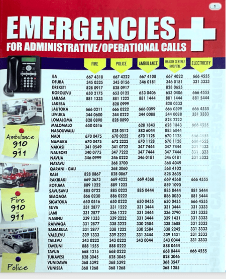 emergencies in Fiji #expatliving #fijilife