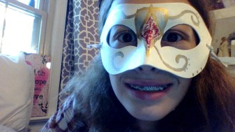 Me Wearing The Mask