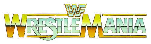 Image result for transparent wrestlemania 1 logo