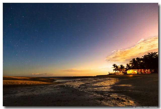 Bantayan Low Tide Nighttime View
