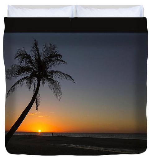 Bantayan Sunrise Duvet Cover