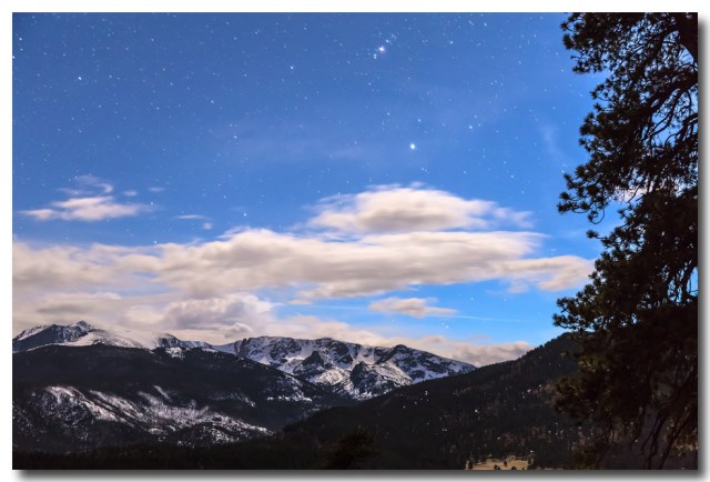 Rocky Mountain Evening View
