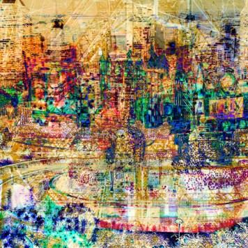 Zen City Inspiration Art