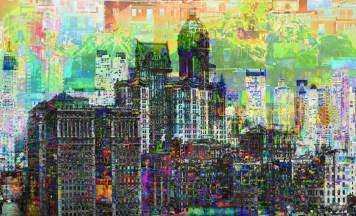 City Art Cityscape
