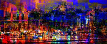 City Art Cityscape Dark City Lights