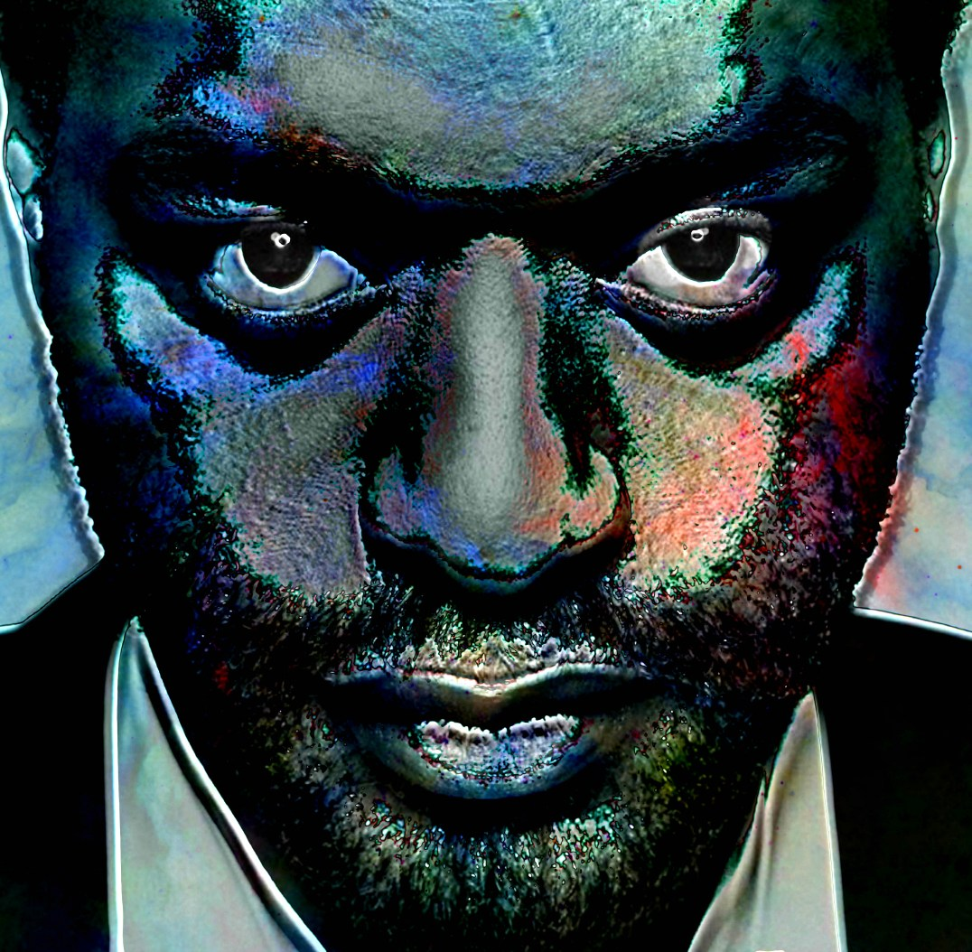 Chiwetel-Ejiofor Portrait Digital Art