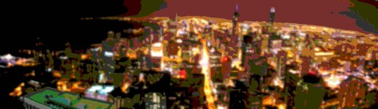 Layer Art Chicago Skyline