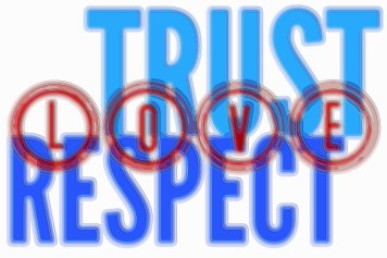 Trust Respect Love Art