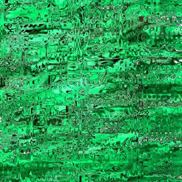 Abstract Distortion Forest Green